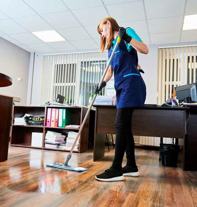 Le nettoyage de bureaux