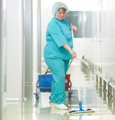 Le nettoyage hospitalier